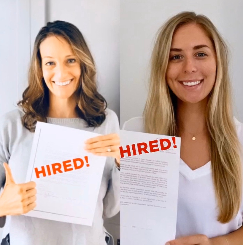 Hiring | Carly and Julia at Building Careers | June 2020