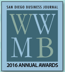 San Diego Business Journal | Women Who Mean Business | 2016 Awards