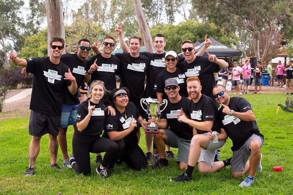 NAIOPalooza Winner 2018 - Black Bandits