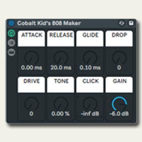 808 Designer (Instrument Rack Preset for Ableton Live 10+)