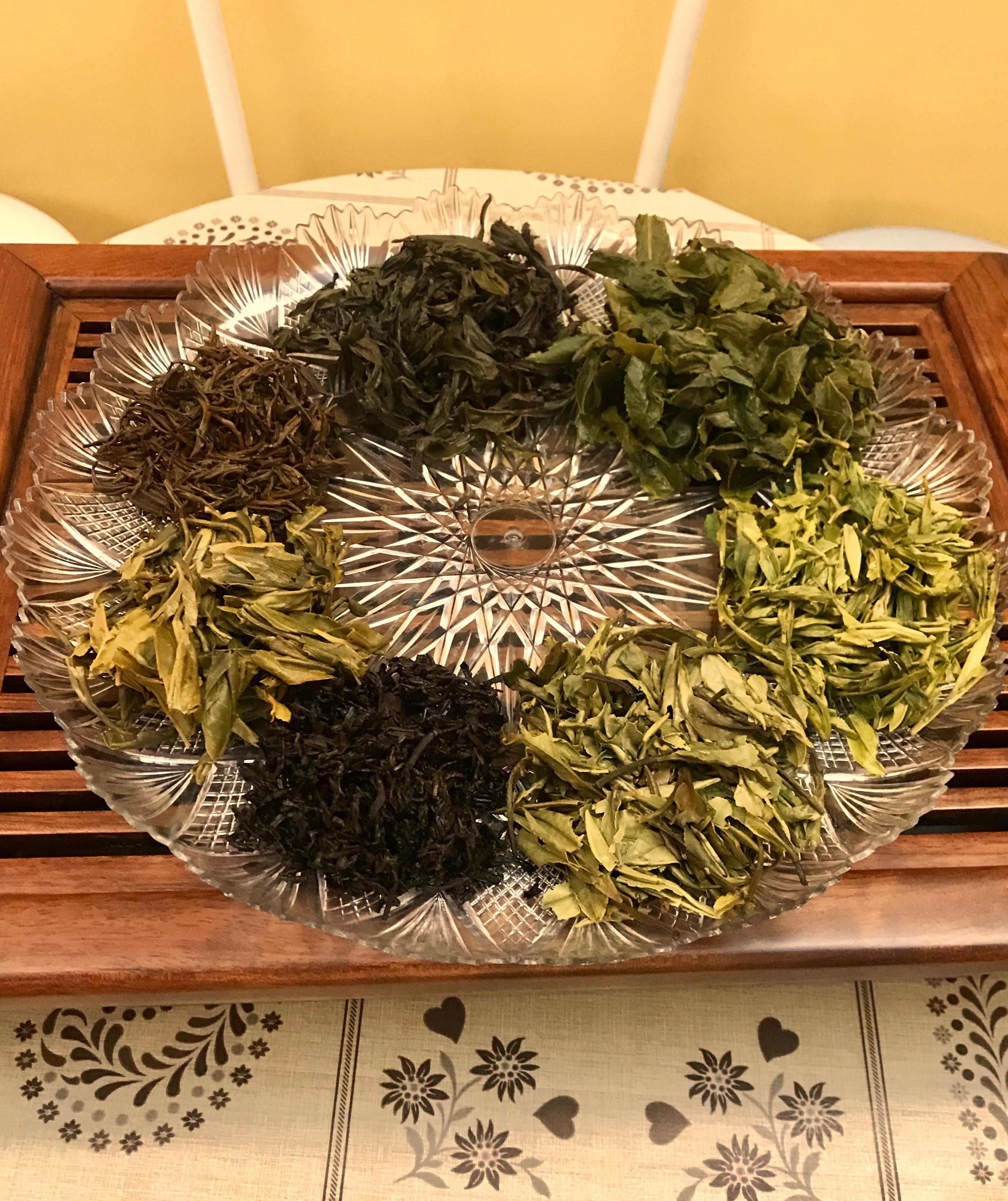 Degustazione di tè pregiati