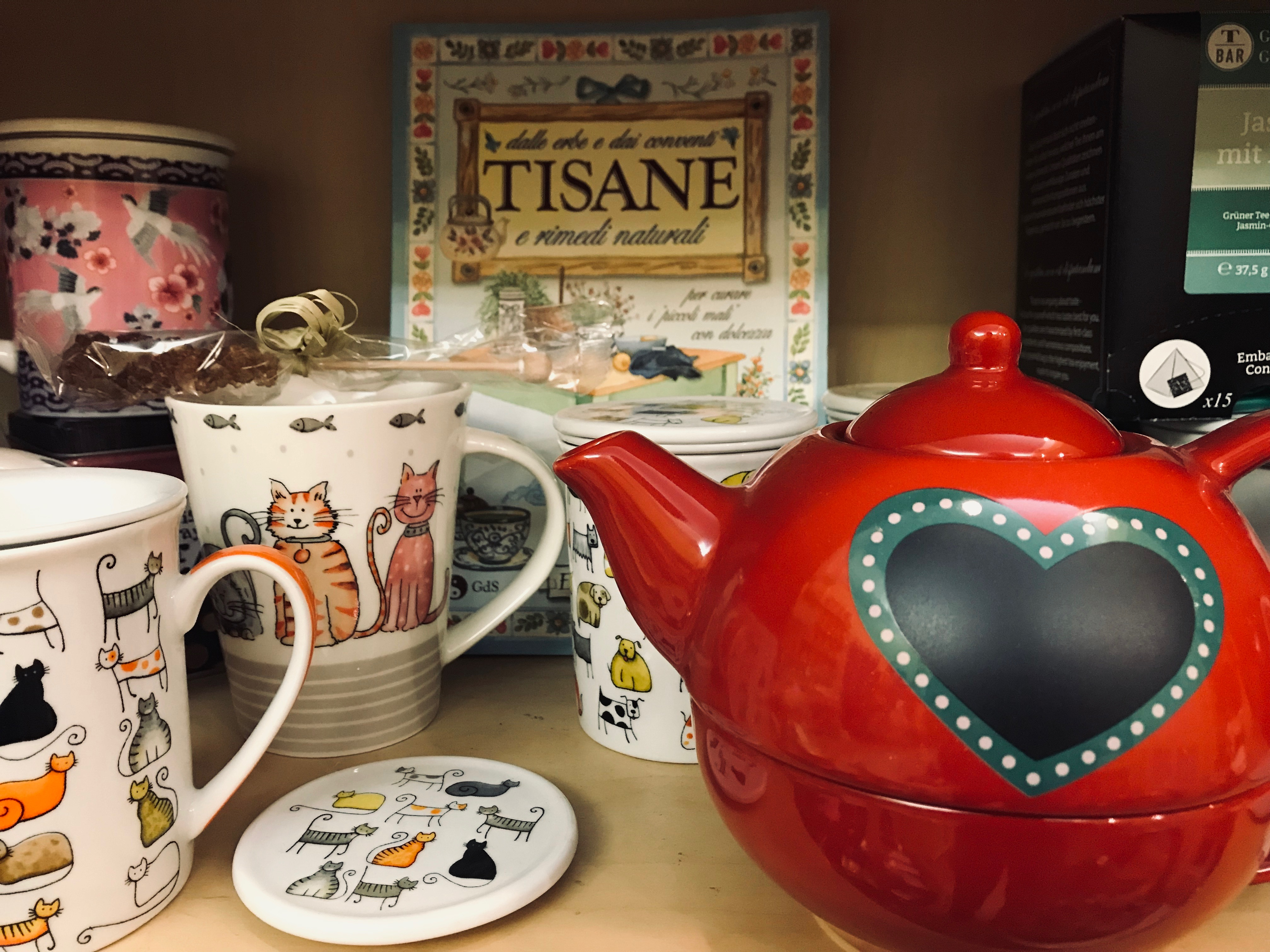 """Tea for one"" e tisaniere"
