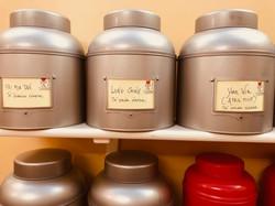 Le boite dei tè pregiati