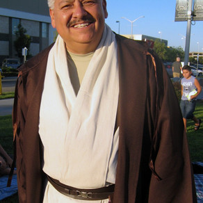 The force is strong at mayor's movie night