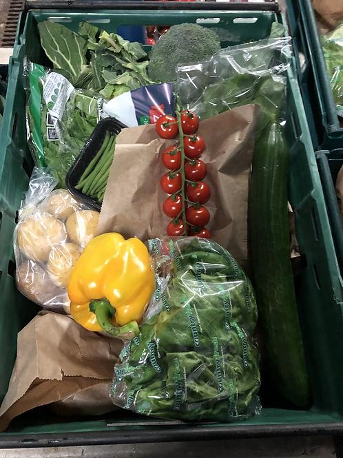 Family Vegetable & Salad Box