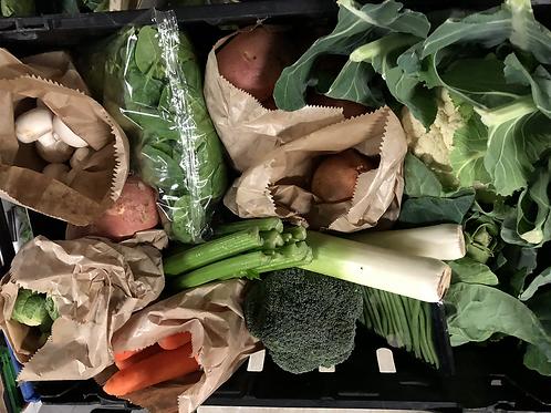 Standard Veg and salad