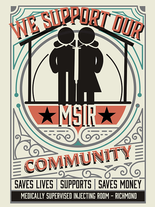 MSIR Community Support poster
