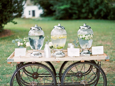 Chill Out! Drink Ideas Using Our Beverage Dispensers to Keep Your Wedding Guests Cool and Hydrated