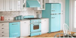 Retro Kitchen Appliances are Back in Style