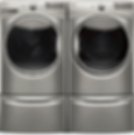 Stainless steel washer & dryer