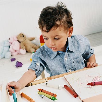 jongen Doodling