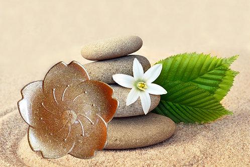 Porte savon fleur à personnaliser à votre goût