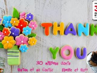 Merci pour vos soutiens