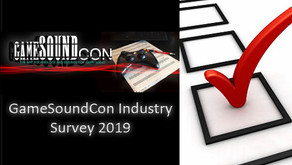 Game Audio Industry Survey 2019