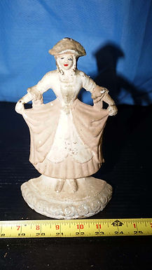 Cast Iron Doorstop - Hand Painted Lady