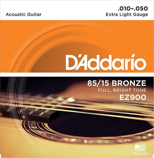 D'ADDARIO EZ900 chitarra acustica Extra Light