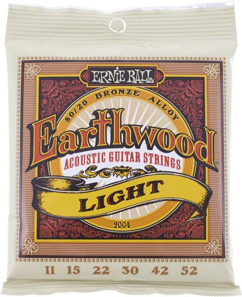 ERNIE BALL Earthwood 2004 chitarra acustica Light 11-52