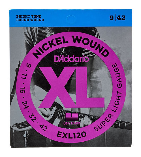 D'ADDARIO EXL120 9/42