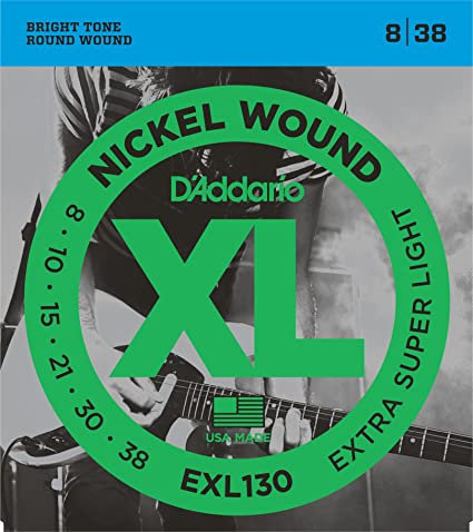D'ADDARIO EXL130 8/38