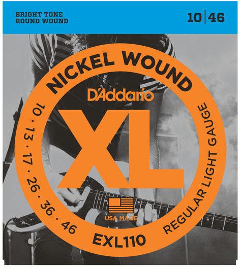 D'ADDARIO EXL110 10/46