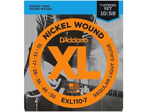 D'ADDARIO EXL110-7 10/59
