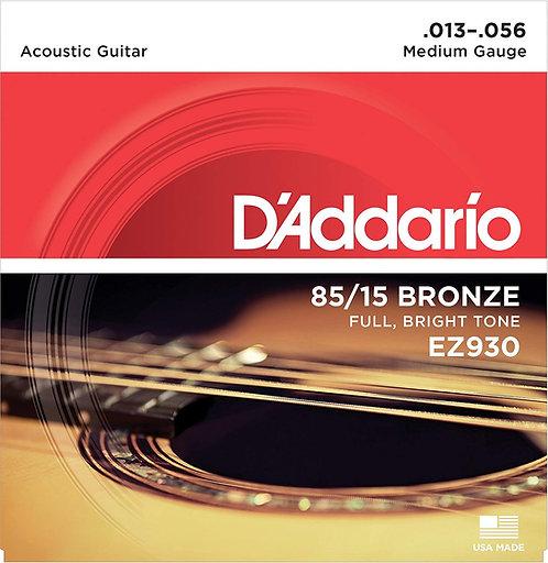 D'ADDARIO EZ930 chitarra acustica Medium