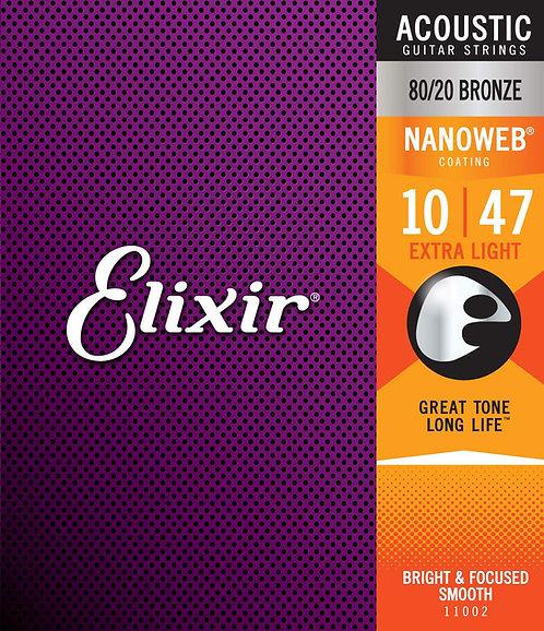 ELIXIR 11002 chitarra acustica EXTRA LIGHT 10-47
