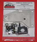 Snoscoot  brake conversion
