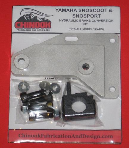 SnoScoot SV80 Hydraulic Brake Conversion Kit