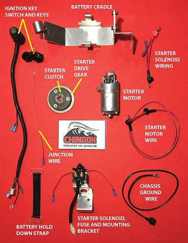 SNOSCOOT SV80 ELECTRIC START CONVERSION KIT