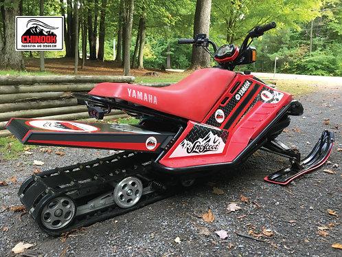 """SnoScoot SV80 106"""" Long track Conversion Kit"""