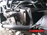 Sno scoot hydraulic brake conversion