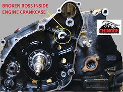 Chinook Fabrication and Design Engine Crankcase Welding
