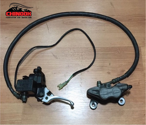 SnoScoot SV80 Hydraulic Brake System