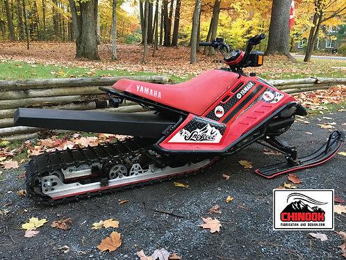 """SnoScoot SV80 121"""" LongTrack Kit"""
