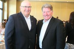 Councillor Ashe w/ Glen Healy