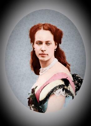 Colourising Remarkable Women - Princess Agnes Salm