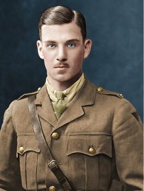VICTORIA CROSS HEROES - 2nd Ltnt Denis George Wyldbore Hewitt (1897-1917)