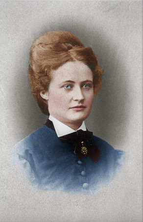 Colorizing Remarkable Women - Anna  Sandström, Swedish feminist and reform pedagogue