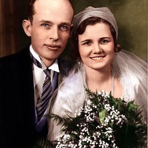 1880 - 1930 Weddings