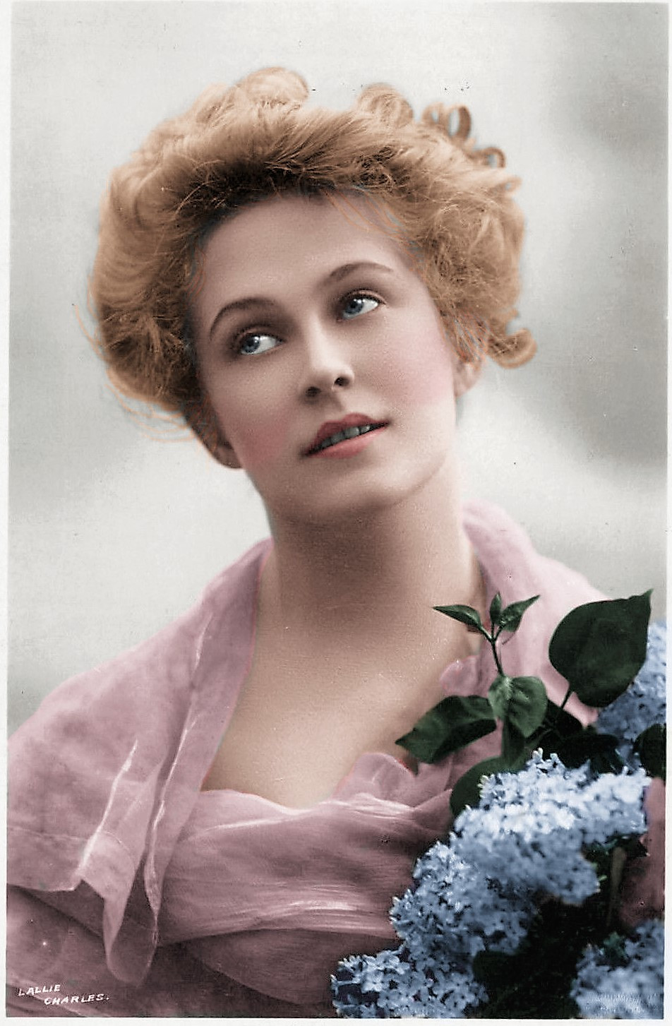 Pauline Chase - Colorization by Claudia D'Souza, the Photo Alchemist
