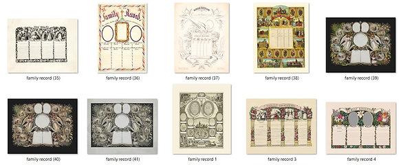 The Creative Genealogist - Templates Bundle