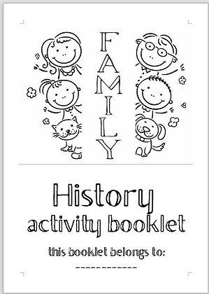 Family History Activity Booklet