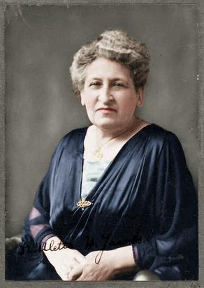 Colorizing Remarkable Women - Aletta Henriëtte Jacobs, Dutch physician and women's suffrage activist