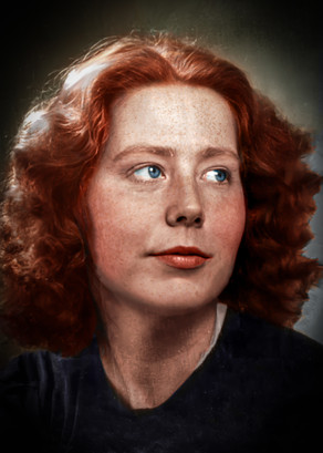 Hannie Schaft -  Dutch resistance fighter during World War II, known as 'the girl with the red hair
