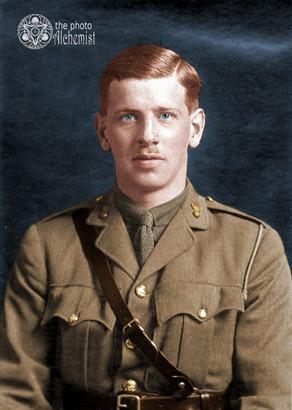 Colorizing our Heroes - Lieutenant Walter Douglas Miller