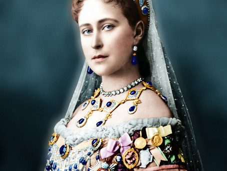 Colorizing Remarkable Women - Elisabeth of Hesse and by Rhine, Princess, nun and saint