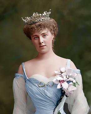 Colourising Remarkable Women - Daisy Princess of Pless