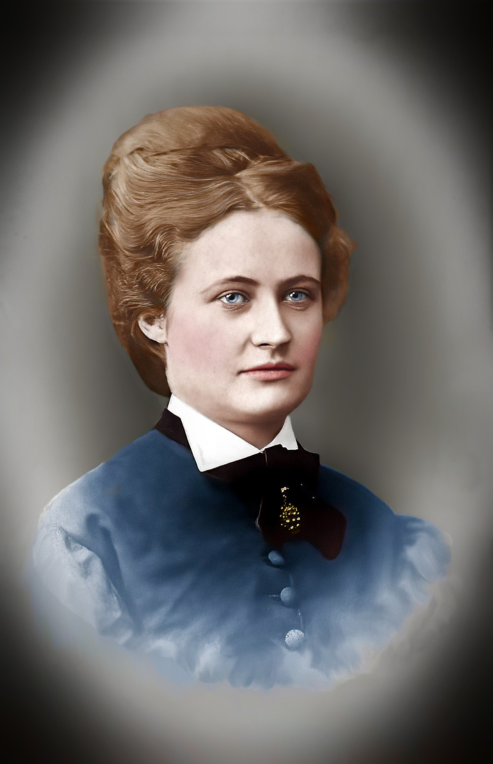 Anna Maria Carolina Sandström, Colorization by Claudia D'Souza - The Photo Alchemist