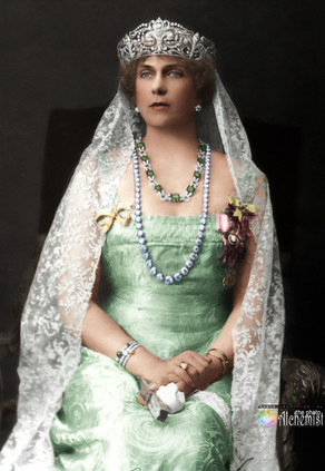 COLOURISING REMARKABLE WOMEN - Victoria Eugenie of Battenberg, Queen of Spain